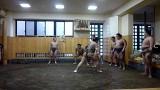 力士のトレーニング